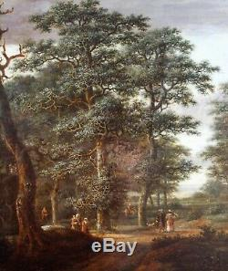 Meindert Hobbema, Landscape, Holland, Painting, Painting, Netherlands, Ruisdael