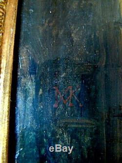 Nicaise Keyser Painter Of Belgian Romantic Battle Scene Taken From A Castle XIX