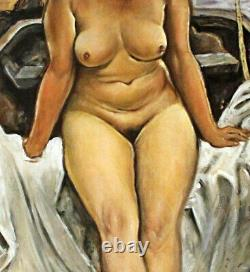 Nude In A Boat