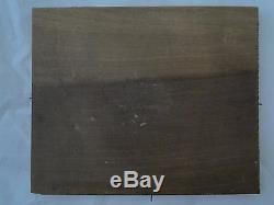 Oil On Panel Wood Marine Theme XIX Eme Signature To Identify (b1065)