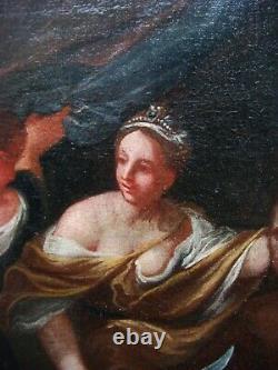 Oil On Toile Xviiith Judith And Holopherne Oil On Canvas