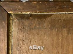 Oil On Wood Signed Orientalist Inoel Nineteenth Time
