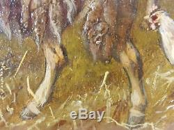 Old Painting Johanna Grell (1850-1934) Oil Painting Oil Painting