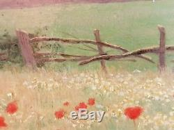 Old Painting The Oil Painting Pile Panel Antique Oil Painting Old Panel