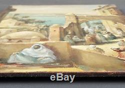 Old Street Scene Painting In Oriental Oil Painting Oil Painting