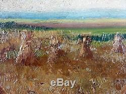 Old Table Adolphe Poot (1924-2006) Antique Oil Painting Oil Painting