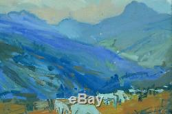 Old Table Mountain Pyrenees Flock Col D'aspin Tourmalet F. Mengelatte