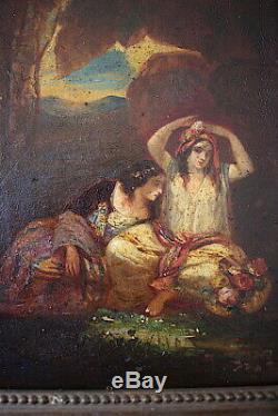 Orientalist Genre Scene Turkish Women Style Diaz La Pena XIX 19th