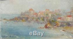Orientalist Painting By Lucette Jeard-vernet (xx) Algiers St Eugene