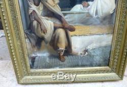 Orientalist Painting Signed Late Nineteenth
