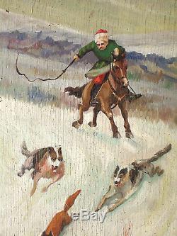 Original Painting, K. I. Lodzejskij, Lodzeischi, Ussr, 1941, Moldova, Horse