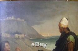 Painting, Ancient, Bible, Orientalist, Painters Troubadours, Fireman, Mythology