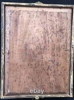 Painting Ancient Oil Painting / 19th Panel Painting Dipinto Antico 19th