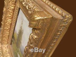 Painting Landscape E. Dupuy Eugene Galien-laloue (1854-1941) + Cadre