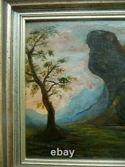 Painting On Wood 18th Landscape