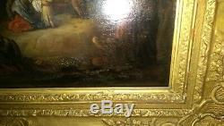 Painting On Wood By Flemish Master 16/17