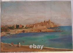 Painting, Painting, Hsp, E. Costa, Antibes, 1931