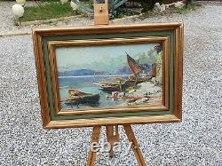 Paintings Barques Of Sinners Paul Jouvet Painter Dauphinois
