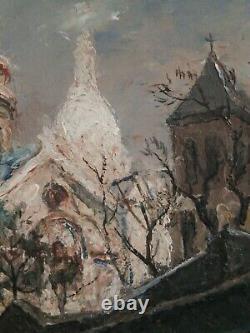 Paris, Montmartre, Sacre Coeur, 1955. Table Of Georges Filiberti (1881-1970)
