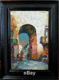 Pastour Louis (1876-1948) Gate Of The Sun Saleya Nice Provence Cannes Paris