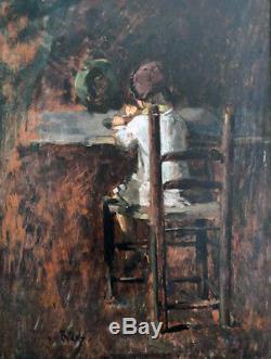 Pierre Billet Child Jules Breton Maroniez Tattegrain Chigot Demont-breton