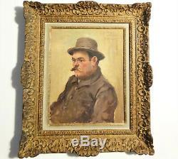 Portrait Auguste Escoffier By Emile Chaumont 1877 1927 Prince Of Restorers