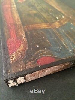 Portrait St. Catherine Of Alexandria Tempera On Wood Time To Determine