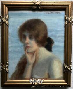 Princess Gagarine-stourdza (1865-1918)-odessa-ukraine-symbolist-cannes-russian