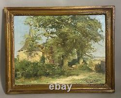 René Rousseau-decelle, The Chapel Of Prigny, Les Moutiers En Retz, Pornic