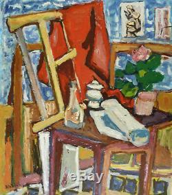 Sasza Blonder / André Blondel (1909-1949) Hsb 1946 / School Of Paris / Fauvism