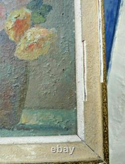 Small Painting Of The Symbolist Painter Emile Brunet (1871-1943)