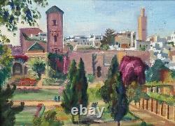 Solange Monvoisin 1911 1985 Rabat Hst Walls 30s