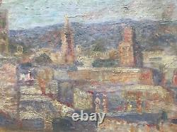 Stan Reszka Painting Hsp Painting City Of Morocco Polish Artist