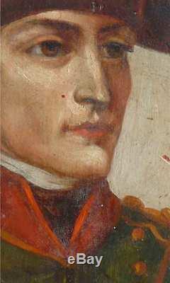 Suite Of 4 Paintings 19th Century Napoleon Bonaparte, Family Portraits