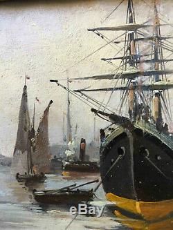 Table A. Hsp Marine Languinais Eugene Galien-laloue (1854-1941)