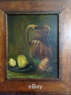 Table Impressionist Still Life Old Way Van Gogh Oil On Wood