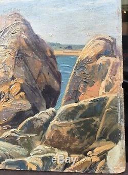 Table Landscape Diben Morlaix Morlaix Brittany In 1900 Henri Prosper Wirth