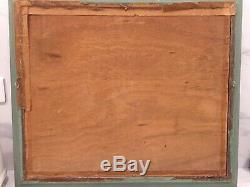 Table Oil On Wood Ajaccio Corse