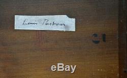 Table Old Louis Pastour Léon 1876-1948. Fishing Boat