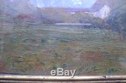 Table Old Mount Granier Alps Savoie Mountains Landscape 1916 Tawny