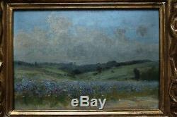 The Blue Field, Fernand Quignon (1854-1941)