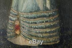 Young Woman With Fan, 1883, Oil On Wood, Signed To Identify