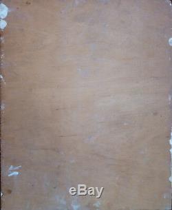 Yvonne Dewals (xx) Hsp / Belgian School / Expressionism / 40s Or 50s