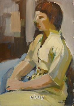 Yvonne Dewals (xx) Hsp / Belgian School / Expressionism / Years 40 Or 50