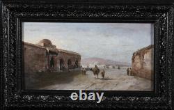 4 Tableaux Orientaliste, du XIX ème siècle