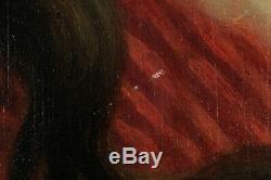 Agapit Stevens, 1849, Portrait, Jeune dame, Femme, Cotation jusque 15000 euros