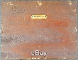 Ancien Tableau Adolph Müller-Grantzow (1853-1922) Peinture Huile Oil Painting