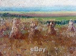 Ancien Tableau Adolphe Poot (Français, 1924-2006) Peinture Huile Oil Painting