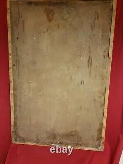 Ancienne Peinture Religieuse signé Hockay, datée 1930, grande taille