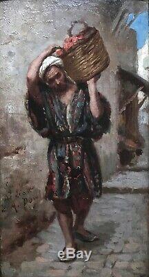 Armand POINT (1860-1932)-Orientaliste-Alger-Symboliste-Léonard Sarluis-Paris